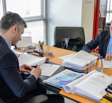 Presidente da AEASC se reúne com presidente do CREA-SP